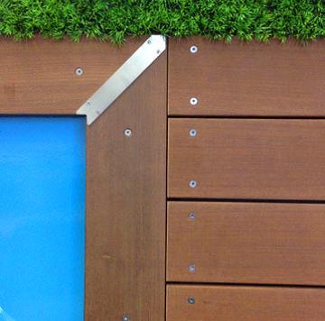 Margelles Et Terrasses En Bois Massif Durable Piscinelle