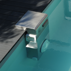 Interface de filtration Bt25 en inox brevetée Piscinelle