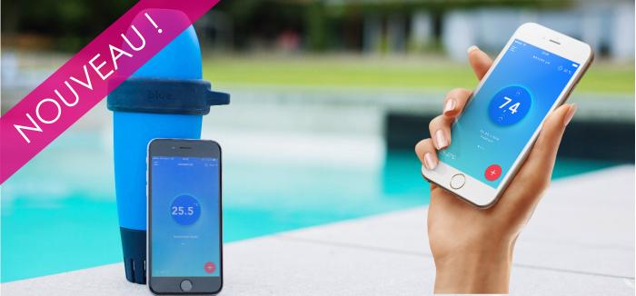 Découvrez le premier objet connecté dédié à la piscine