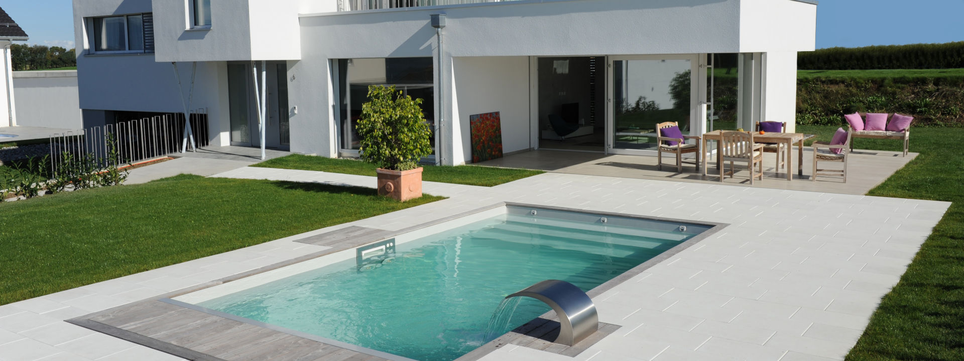 piscine rectangulaire pour maison design