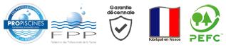Piscinelle Quality Assurance pictogram