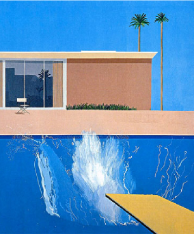 The David Hockney painting that inspired Piscinelle