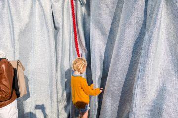 L'œuvre de Christo a cette double force d'être véritablement créative tout en restant ludique... Crédit photo : Lubri