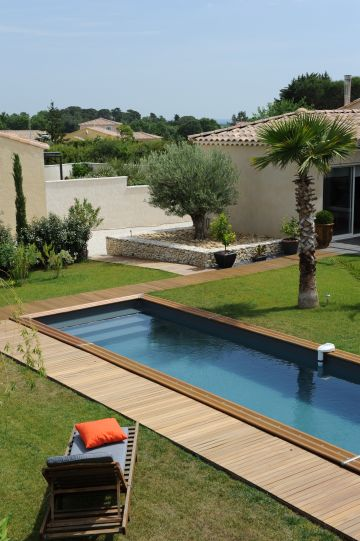 Couloir de nage implanté dans la Drôme