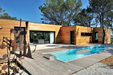 Couloir de nage dans le Gard