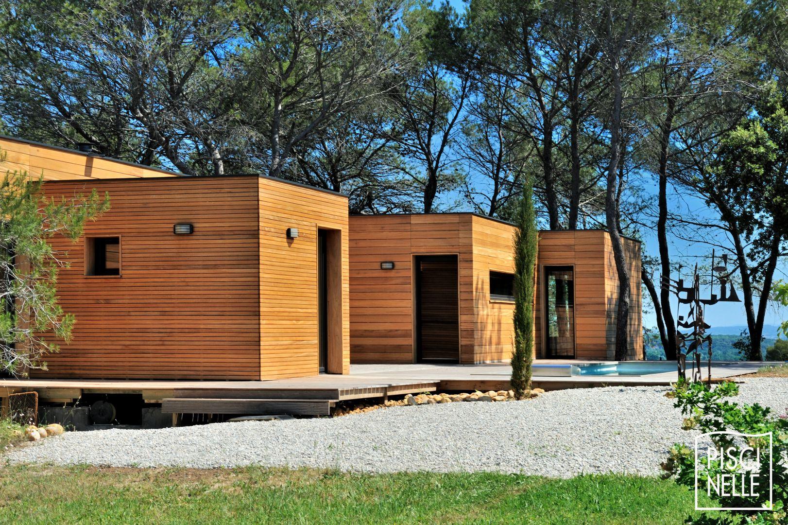 Maison en bois gard maison moderne for Maison moderne gard