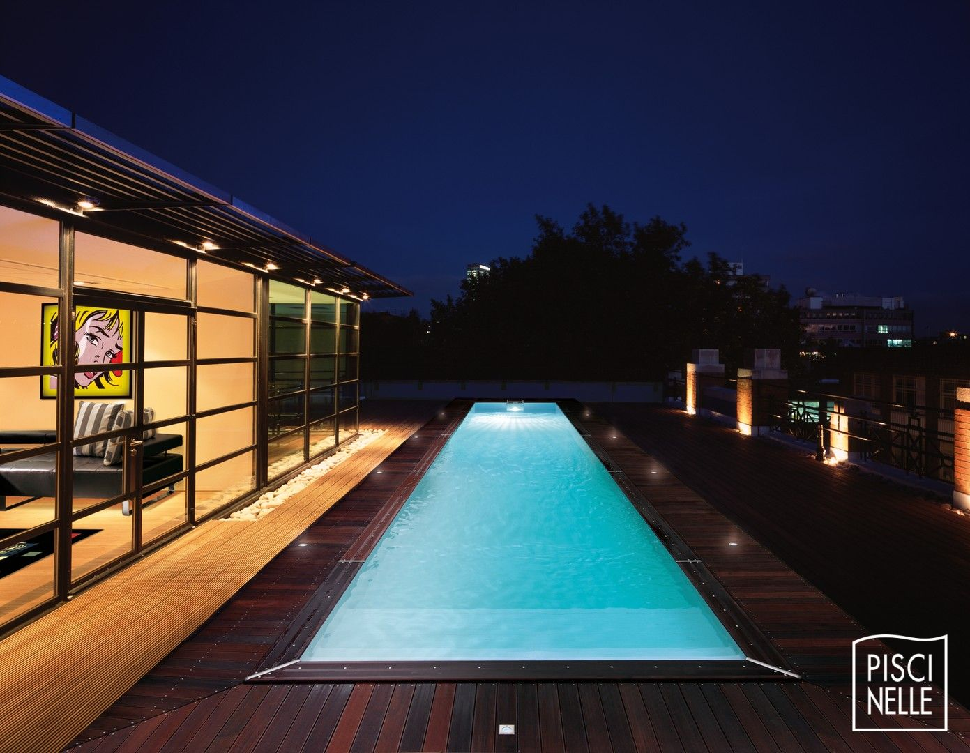 couloir de nage - piscine cn - piscinelle