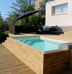 Kit hors-sol pour piscine