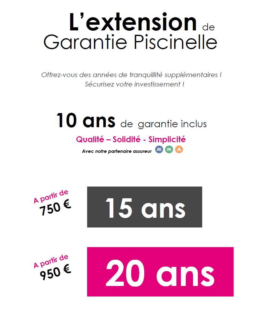 extension de garantie Piscinelle