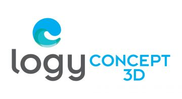 Logo de l'entreprise française et leader de la gestion 3D piscine : Logyline.