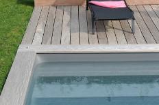swimming pool borders edges deck