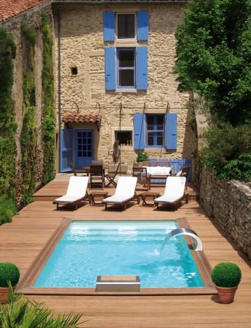 Petite piscine Piscinelle Cr4b