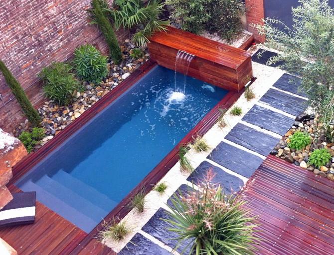 Piscines bo3 5 et cr4b sans autorisation de travaux piscinelle - Piscine pour petit jardin ...