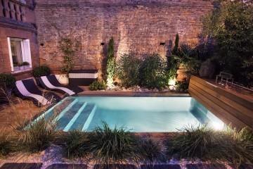 Petite piscine en cœur de ville de Toulouse