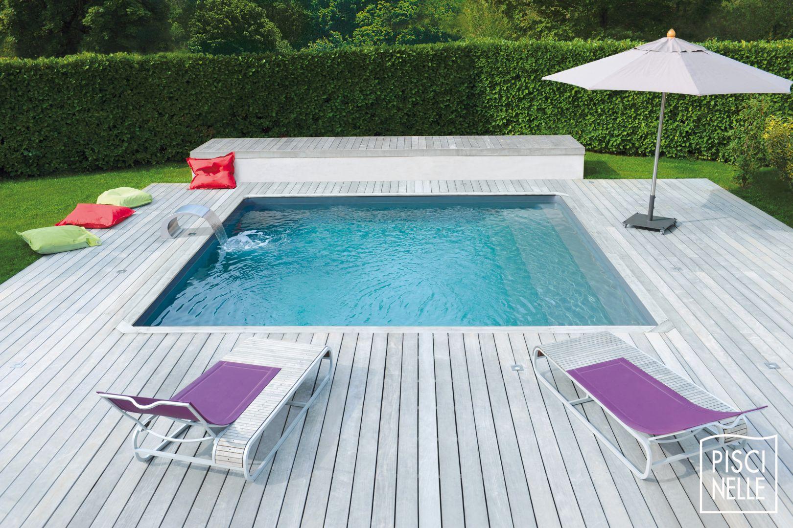 Diaporama des photos de piscine piscine piscinelle for Piscine carree coque