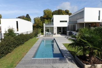 Piscine au design tendance
