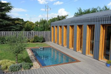 Reportage photo piscine contemporaine