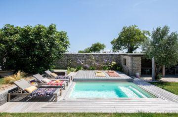 La piscine est un art de vivre... cette réalisation sa quintessence