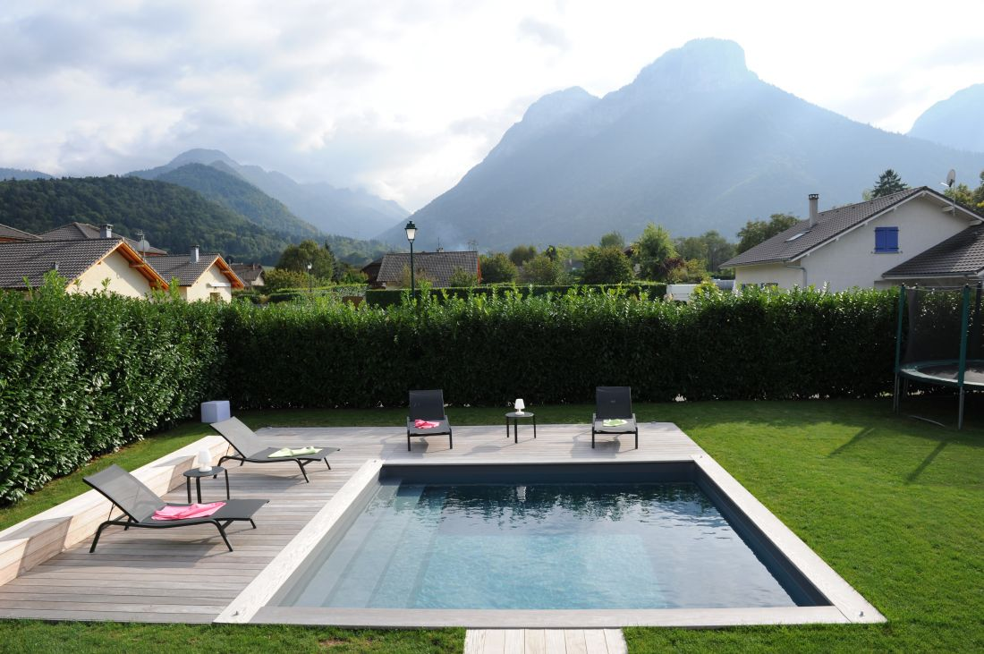 2014 Gold Trophy winner for a self-build swimming pool installed by a private individual