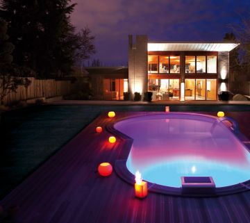Projecteur de piscine led 12 couleurs