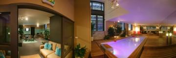 Indoor above-ground pool in Paris