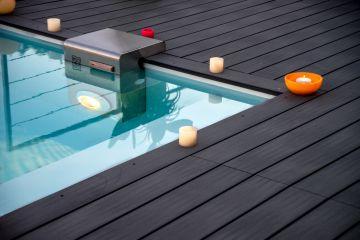 Une piscine équipéed'un BT25