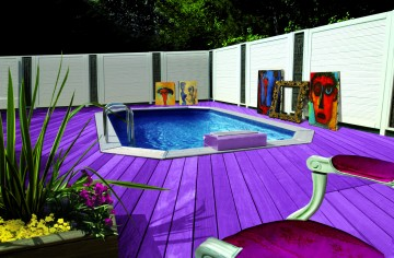 Piscine octogonale Rg design