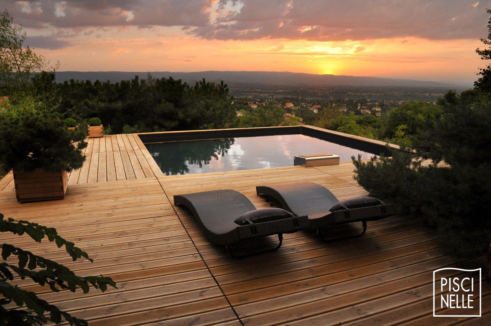 Mettre Piscine Sur Terrain En Pente piscine hors-sol - piscinelle