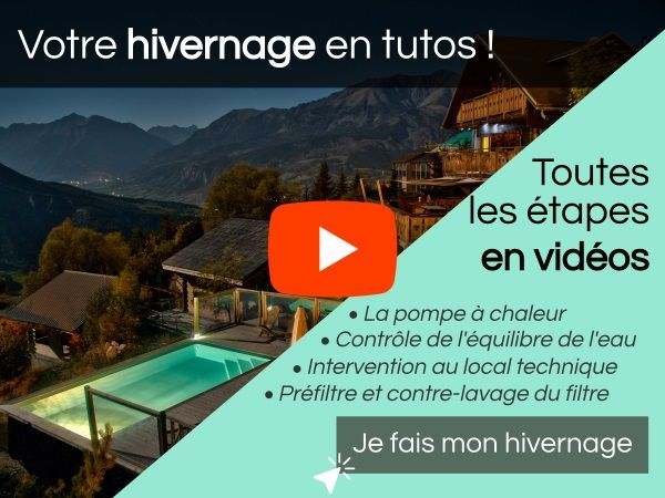 Piscinelle met à votre disposition une série de tutoriels vidéo pour vous aider à réaliser votre hivernage de piscine.