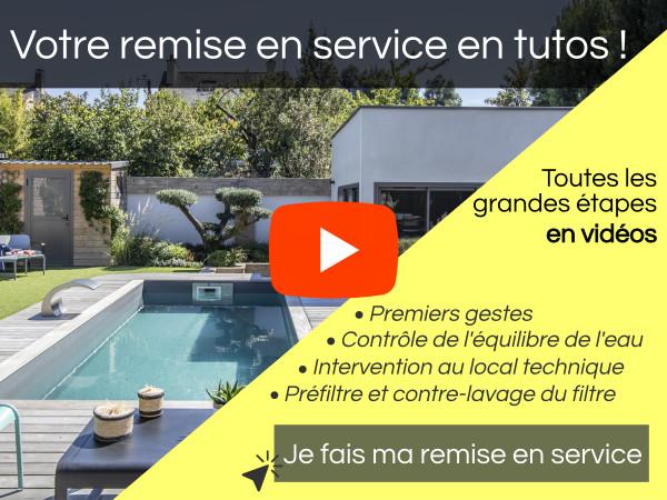 Remise en service de piscine en vidéo