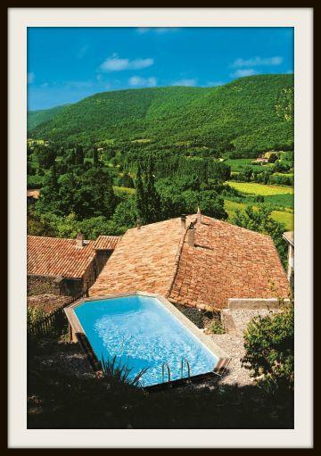 Piscinelle d'Or 2009 - Piscine hors-sol dans le Luberon