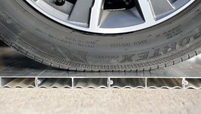 Teste de résistance de la structure aluminium Piscinelle