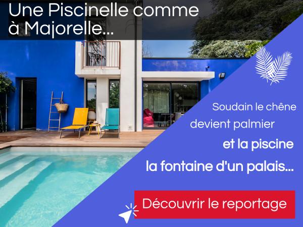 Nouveau reportage photo d'une Piscinelle comme à la Villa Majorelle