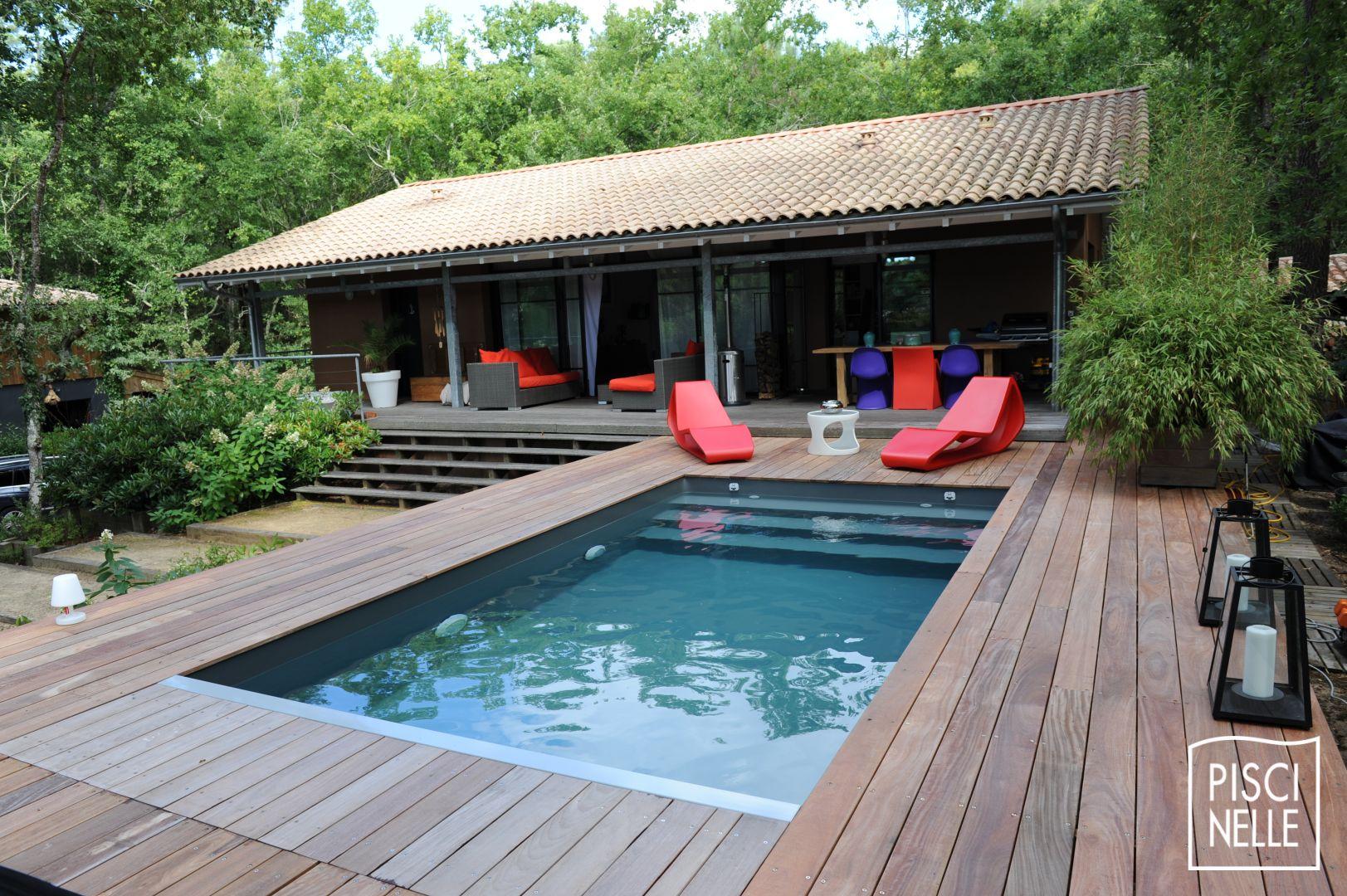 Reportage photo piscine en aquitaine - La maison de la piscine ...