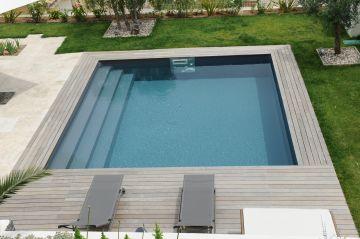 Une piscine Piscinelle installée à Aubagne