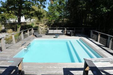 Une piscine Piscinelle installée à Nantes