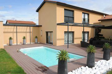 Une piscine Piscinelle installée en Gironde