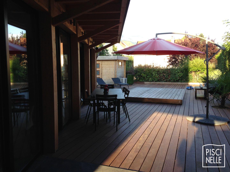 Terrasse piscine mobile : le Rolling-Deck Piscinelle ...