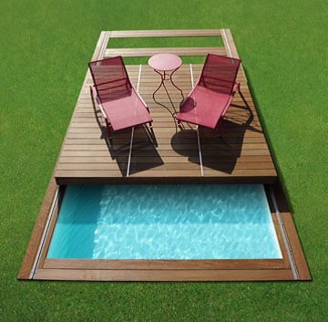 Le Rolling-Deck : la terrasse mobile de piscine