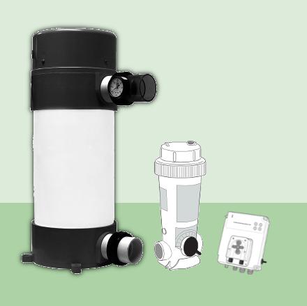 Station de traitement automatique de l'eau à l'UV