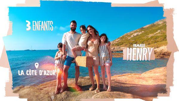 La famille Henry est l'une des familles de l'émission cet été.